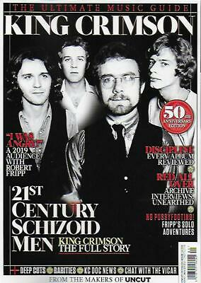 ULTIMATE MUSIC GUIDE MAGA FROM UNCUT-KING CRIMSON*Post included to UK/Europe/US