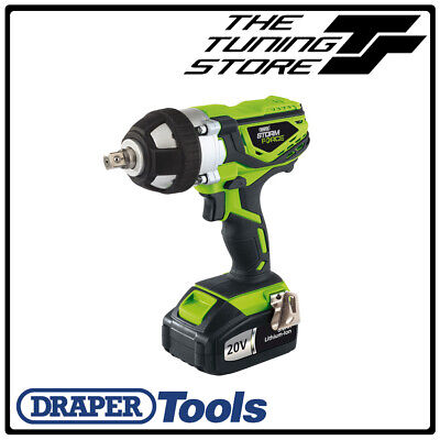 Draper Tools CIW20GSF - Storm Force Cordless Impact Wrench (20V)