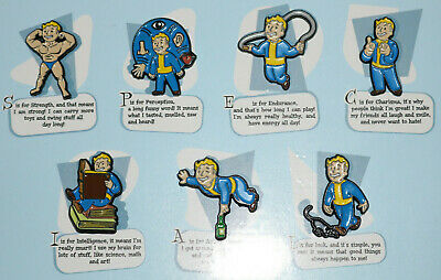 VAULT BOY STRENGTH SPECIAL FiGPiN Fallout 76 NEW SEALED ~*IN