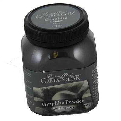 Brevillier's Cretacolor Graphite Powder 150g use with pencil drawing sketching