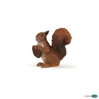 Squirrel figure Papo: Wild Animal Kingdom - Model 53007