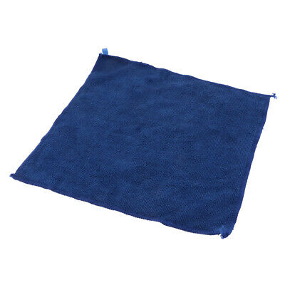 Microfiber Cleaning Towel Car Auto Dish Wash Dry Clean Polish Cloth Blue