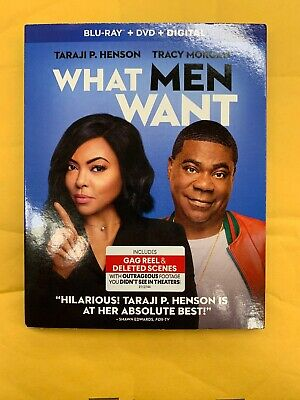 What Men Want(Blu-Ray+Dvd+Digital)W/Slipcover New Free Shipping