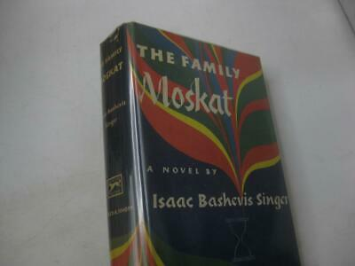 The Family Moskat by Isaac Bashevis SINGER Jewish book