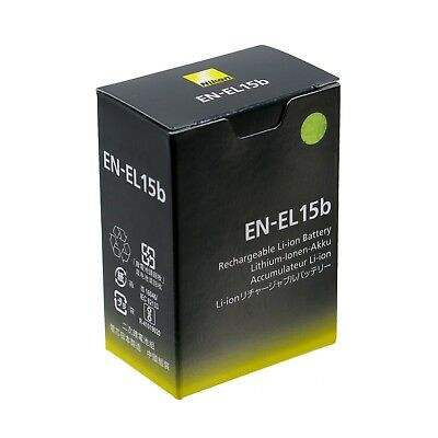 Nikon EN-EL15b Rechargeable Lithium Ion Battery *NEW* *IN STOCK*
