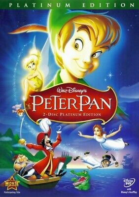 Peter Pan (DVD, 2007 2-Disc Set Platinum Edition) New w/ Slipcover FREE Shipping