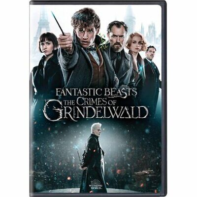 Fantastic Beasts: The Crimes of Grindelwald (DVD, 2019) New w/ FREE Shipping!