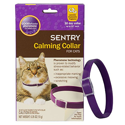 SENTRY Calming Collar for Cats, 1 Pack