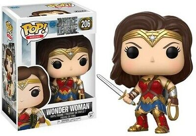 DC - JUSTICE LEAGUE - WONDER WOMAN Funko Pop! Movies Toy