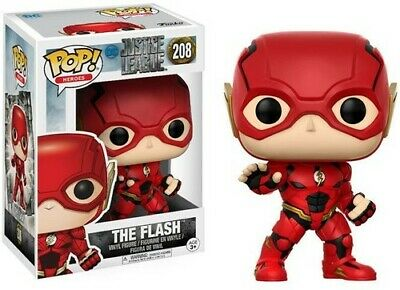 FUNKO POP! MOVIES: DC - JUSTICE LEAGUE - THE FLASH [New Toy] Vinyl Figure