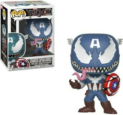 Marvel Venom - Venom / Captain America Funko Pop! Marvel Toy