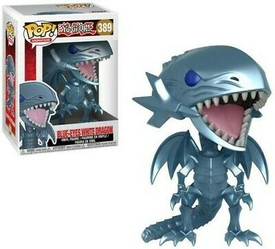 Yu-Gi-Oh! - Blue Eyes White Dragon Funko Pop! Animation Toy