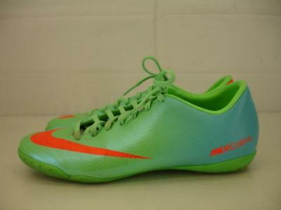 4a3943d4638 Mens 7.5 Nike Mercurial Victory IV IC 555614-380 Indoor Soccer Shoes Lime  Green