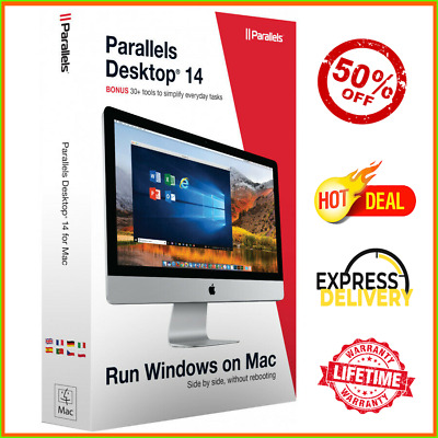 Parallels Desktop 14 Business Edition For Running Windows on Mac 2019 Fast Deliv