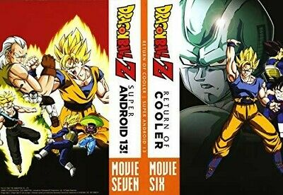 Dragon Ball Z: Return Of Cooler And Super Android 13 [New DVD] 2 Pack