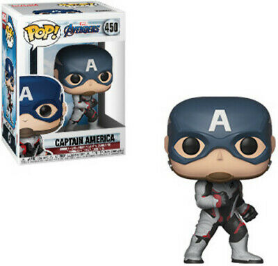 FUNKO POP! MARVEL: Avengers Endgame - Captain America [New Toys] Vinyl Figure