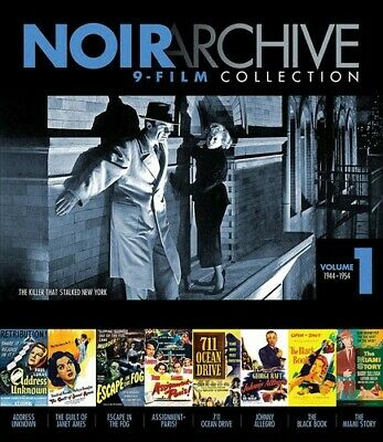 Noir Archive 9-Film Collection: Volume 1: 1944-1954 [New Blu-ray]
