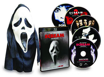 Scream Complete Collection (Scream 1,2,3,4) (With Mask) (Boxset) (Blu- (Blu-Ray)