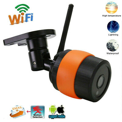 Wireless HD 960P 1.3MP Outdoor WIFI Network CCTV Security IP Camera Night Vision