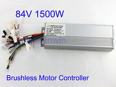 84V 1500W Electric Bicycle Brushless Speed Motor Controller For E-bike & Scooter