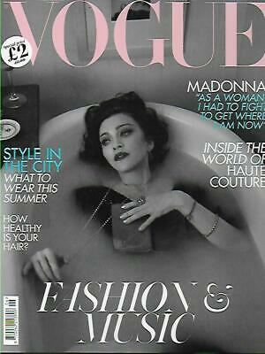 VOGUE magazine- June 2019, Madonna (NEW)*Post included to UK/Europe/USA/Canada