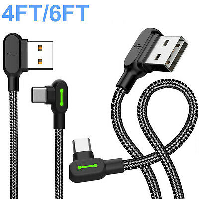 For Samsung Galaxy S9 Plus Note8 USB-C Type C FAST Charging Sync & Charger Cable