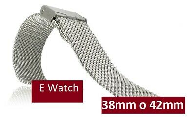 Smart Watch Pulsera Correa Brazalete Band nato ACERO ACIER 38 / 42mm Bracelet