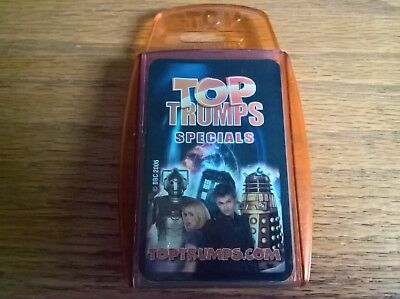 Top trumps specials card game set Dr Doctor Who David Tennant
