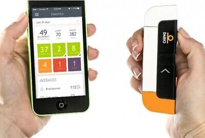NEW!! Dario LC Blood Glucose Monitoring System Sugar Meter Use With iPhone Only