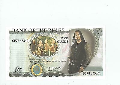 Bank  Of  The  Rings  Note