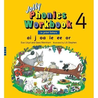 Jolly Phonics Workbook 4 - Paperback NEW Sue Lloyd (Auth 2008-01-31