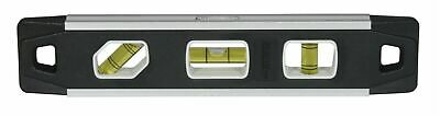 "Johnson 1421-0900 9"" Magnetic Aluminum Reinforced Torpedo Level"