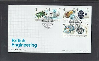 GB 2019 British Engineering Royal Mail FDC First Day Cover Innovation Way York