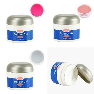 56g UV Builder Gel Soak Off Extension Polygel Quick Dry Beauty Nail Art Glue Art