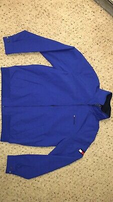 96a17c0d Men's Tommy Hilfiger Yacht Yachting Jacket Windbreaker Waterstop Blue Medium