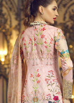 Rang Rasiya Carnation 2019 Luxury Lawn Collection Unstitched Suit - New in!