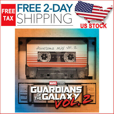 Guardians Of The Galaxy Vol. 2 Awesome Mix. 2 Soundtrack Audio CD New