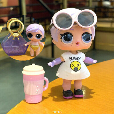rare LOL Surprise Dolls The Great Baby & lil sister Under Wraps Eye Spy Series 4