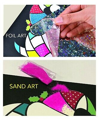 Kid's Sand Art Foil Art & Crafts Kids Toys Children's DIY Creative Kit