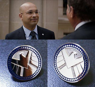• Shield • Agent Lapel Pin • Cosplay Prop • Iron Man • Avengers • Winter Soldier