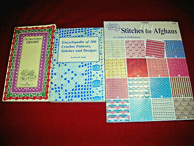 Knit Pattern Book Knitting Stitches Visual Encyclopedia 350 Edges