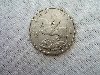 1935 Silver Crown Coin ....George V  Silver Jubilee.............341