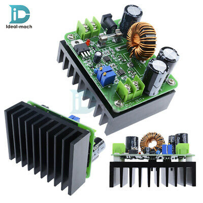 DC 600W 10-60V to 12-80V Boost Converter Step-up Module Car Power Supply 500mA