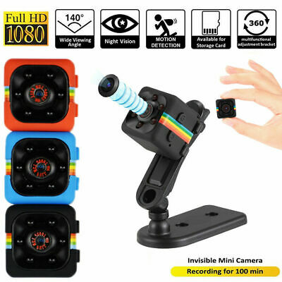 1080P Mini Hidden Spy Car Camera Dash DV DVR Cam SQ11 Full HD IR Night Vision