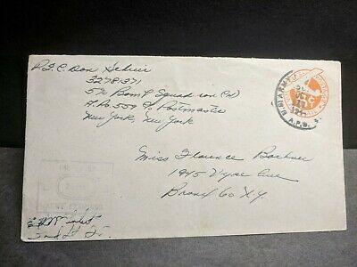 APO 559 ELVEDEN, ENGLAND 1944 Censored WWII Army Cover 590 BOMB Sqdn (H)