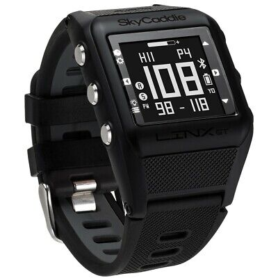 NEW SkyCaddie Golf LINX GT Golf GPS Watch 2018 Range Finder Black $299 Retail!