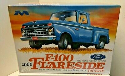1/25 Moebius 1966 Ford F100 Flareside Pickup Truck Plastic Model Kit NEW
