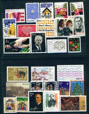 IRELAND - Collection of 400 Different Postage Stamps
