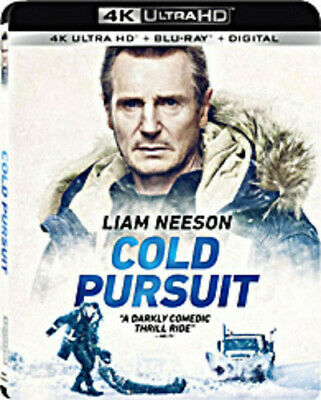 Cold Pursuit [New 4K Ultra HD] With Blu-Ray, 4K Mastering, 2 Pack