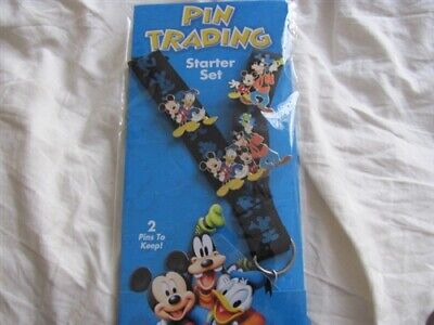 Disney Trading Pins  46002 Friends Are Forever Starter Set (Lanyard & 4 Pins)